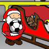santa caught christmas Icon