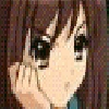 haruhi face - Call on me! Icon